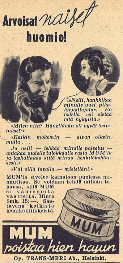 1938 nro 10 mum