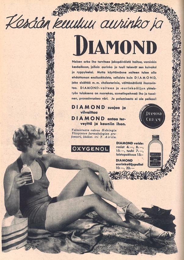 Diamond aurinkovoide