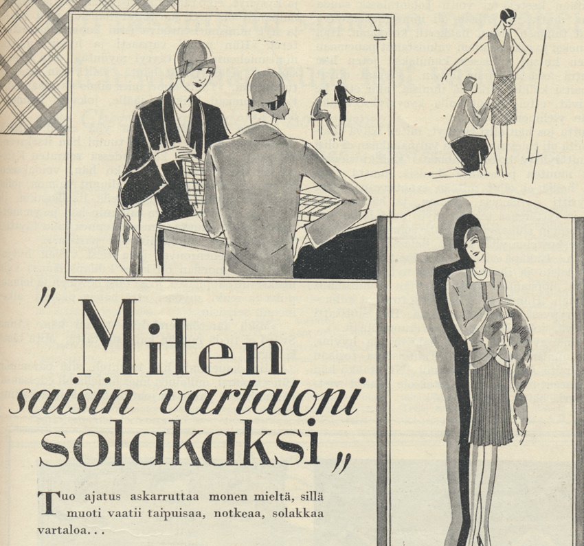 KL no 9 vuosi 1928 Finlayssonin mainos
