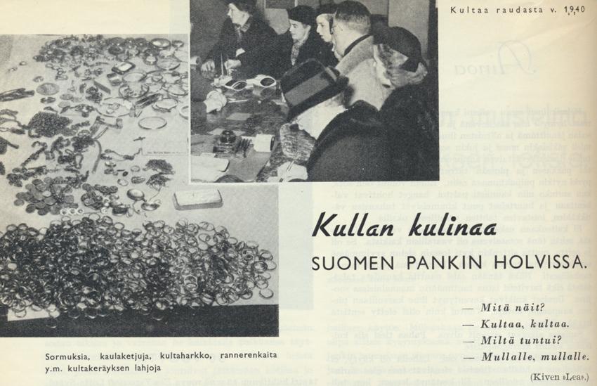 Lotta Svärd No 7 vuosi 1940