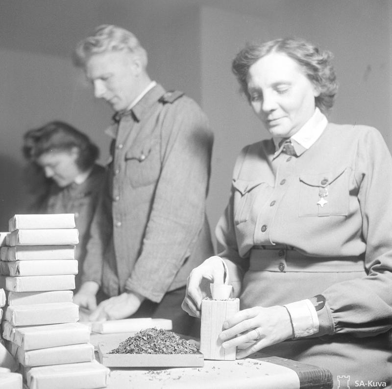 Huuhanmäki 1943 verkkoon