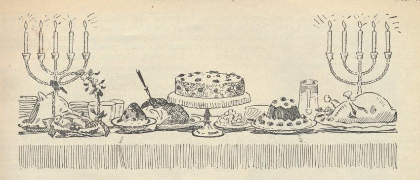 Piirros KL Joulunumero 1925