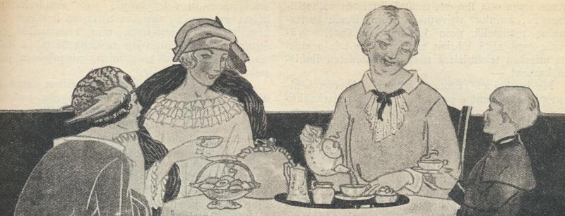 Kahvipöydässä